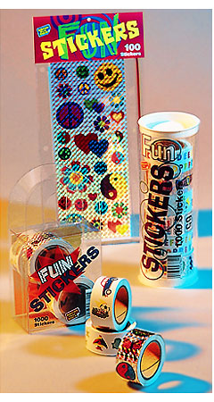 Stickers and Packaging 1
